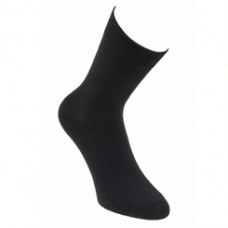 E & F Fashion Socks Size 39-42 Black 3 Pieces