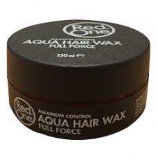 RedOne Aqua Wax Full Force Hairwax Zwart