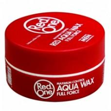 RedOne Red Aqua Wax Full Force Red Hairwax