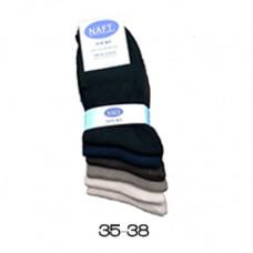 Anti Transparant 100% Katoen Sokken 5 paar Maat 35-38