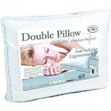 Double Pillow Anti-neck Pain 3D Ergonomic Pillow