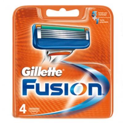 Gillette Fusion Blades 4 Pieces