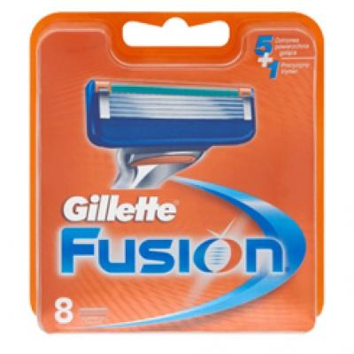 Gillette fusion scheermesjes 8 stuks