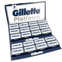 Gillette Platinum Razon Blades 100 Pieces